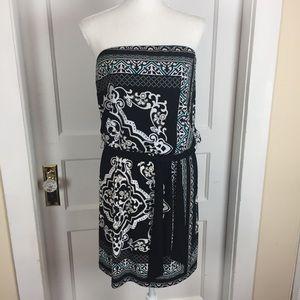 WHBM Strapless Dress Size Medium